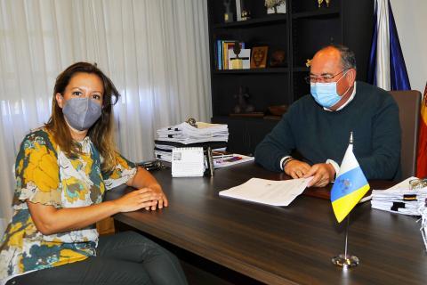 La diputada Rosa Dávila visita El Sauzal (Tenerife) / CanariasNoticias.es