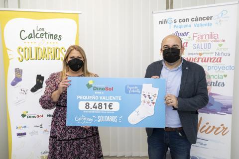 """""""Calcetines Solidarios"""" de Fundación Dinosol / CanariasNoticias.es"""