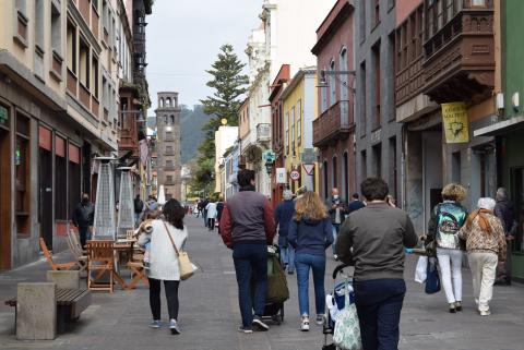 Calle La Carrera en La Laguna (Tenerife) / CanariasNoticias.es
