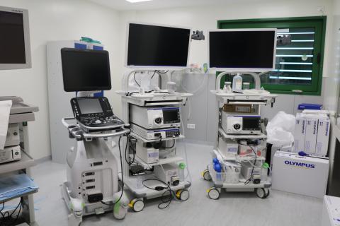Nuevos equipos de endoscopia del Hospital Dr José Molina Orosa / CanariasNoticias.es