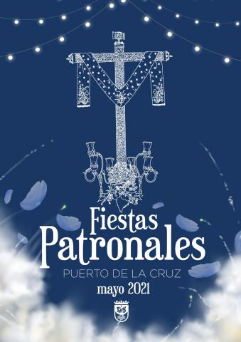 Cartel de la cruz de Puerto de la Cruz (Tenerife) / CanariasNoticias.es