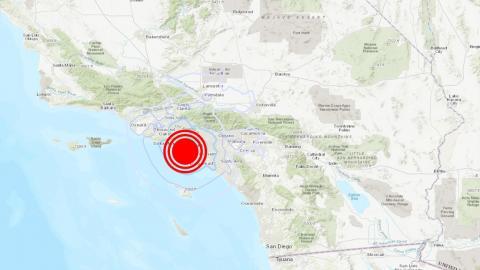 Sismo de magnitud 4,0 en Los Ángeles (EEUU)