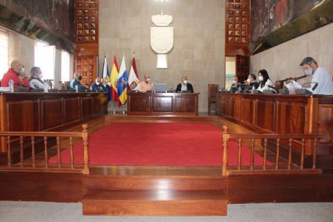 Reunión ayuntamiento con la Autoridad portuaria/ canariasnoticias
