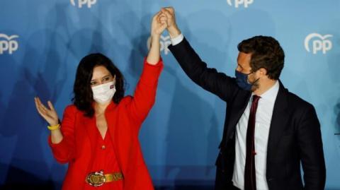 Isabel Díaz Ayuso y Pablo Casado/ canariasnoticias