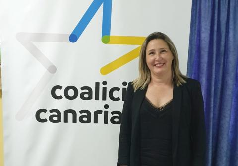 Dulce Gutiérrez, secretaria general local de CC en La Victoria (Tenerife) / CanariasNoticias.es
