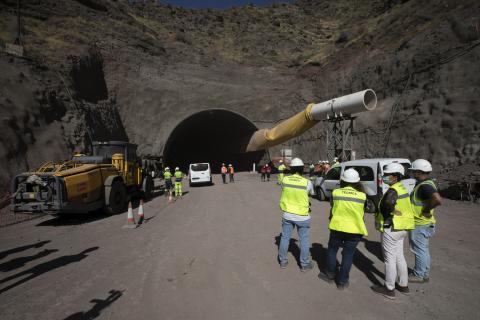 Finaliza la excavación del túnel de Guguillo en La Aldea (Gran Canaria) / CanariasNoticias.es