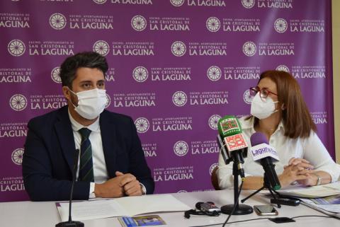 Luis Yeray Gutiérrez y Elvira Jorge. La Laguna / CanariasNoticias.es