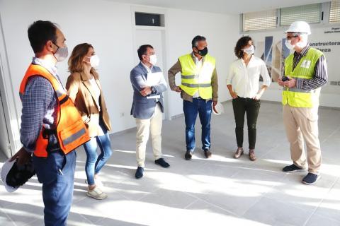 Obras Complejo Deportivo de Las Delicias. Tenerife/ canariasnoticias