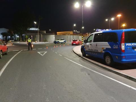 Control de la Policía Local de Puerto del Rosario (Fuerteventura) / CanariasNoticias.es