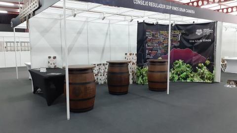 Stand de DO Vinos de Gran Canaria en la Feria Gran Canaria Me Gusta / CanariasNoticias.es