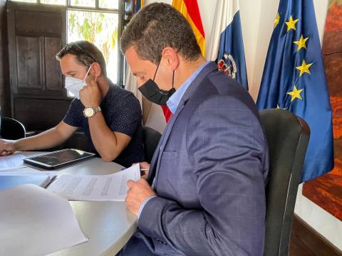 Óscar Noda, alcalde de Yaiza (Lanzarote) / CanariasNoticias.es