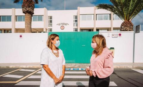 Colegio Capellanía del Yágabo, en Arrecife (Lanzarote) / CanariasNoticias.es