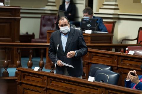 Blas Trujillo, consejero de Sanidad de Canarias / CanariasNoticias.es