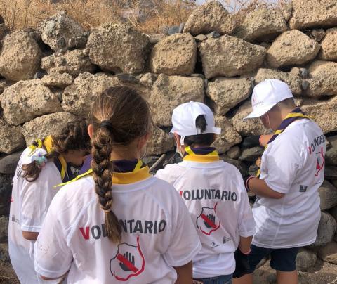 Formación sobre la culebra real californiana a escolares / CanariasNoticias.es