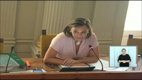 Lidia Cáceres, portavoz de Cs en el Ayuntamiento de Las Palmas de Gran Canaria / CanariasNoticias.es