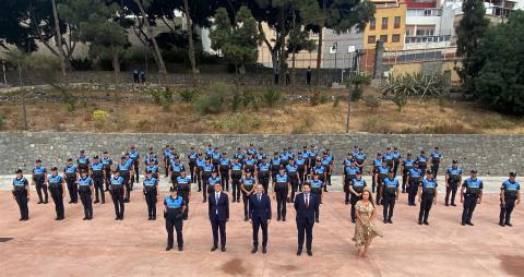 Las Palmas de Gran Canaria incorpora a 66 agentes de la Policía Local / CanariasNoticias.es