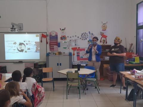 El Puerto Recicla llega a las aulas de Puerto de la Cruz / CanraiasNoticias.es