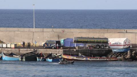 Pateras en Arguineguín. Mogán. Gran Canaria/ canariasnoticias
