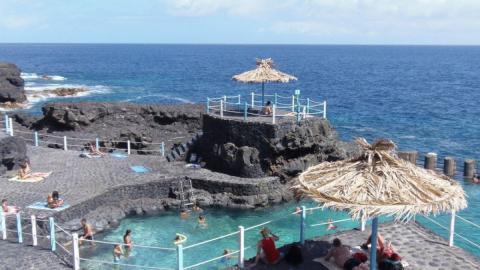 Charco de marea en Canarias
