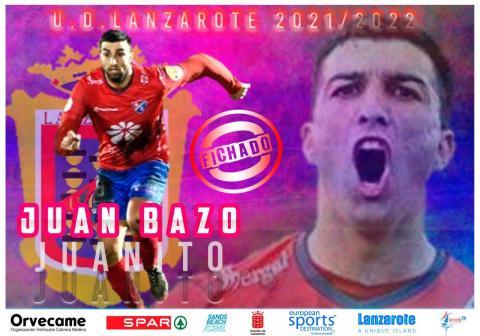 Juanito Bazo. UD Lanzarote. Fútbol/ canariasnoticias