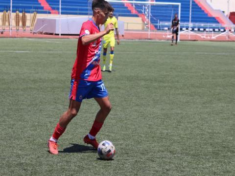 Adrián Machín. U.D. Lanzarote. Fútbol/ canariasnoticias