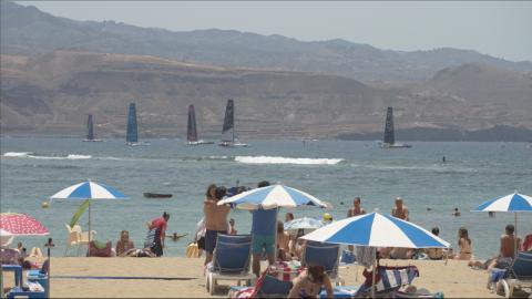 Pro Sailing Tour. Las Canteras/ canariasnoticias
