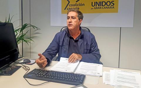 Francis Candil, portavoz de CC-UxGC en Ayuntamiento de Las Palmas de Gran Canaria / CanariasNoticias.es