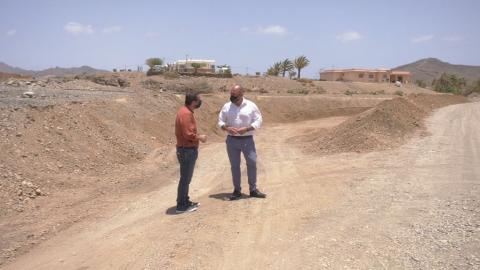 Cuenca del barranco de Gran Tarajal en Tuineje (Fuerteventura) / CanariasNoticias.es