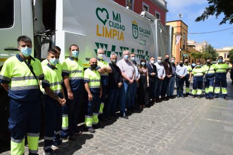 Nuevo servicio provisional de recogida de residuos de Gáldar / CanariasNoticias.es