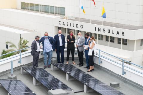 La Secretaria de Estado de Energía, Sara Aenegen visita el Cabildo de Gran Canaria / CanariasNoticias.es
