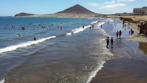 Playa de El Médano en Granadilla de Abona (Tenerife) CanariasNoticias.es