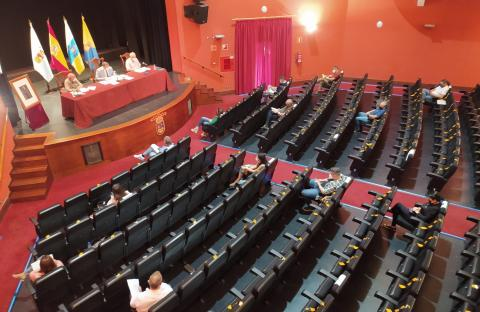 Pleno del Ayuntamiento de Guía / CanariasNoticias.es