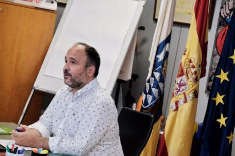 José Antonio Valbuena en la Conferencia sectorial de Medio Ambiente / CanariasNoticias.es