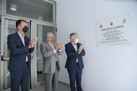 Inauguración del Audillón de La Gomera / CanariasNoticias.es