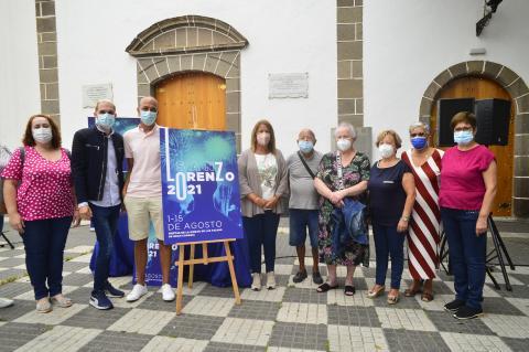 Presentación de los actos festivos en la celebración de las fiestas en honor a San Lorenzo / CanariasNoticias.es