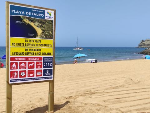 Mogán abre la playa de Tauro / CanariasNoticias.es
