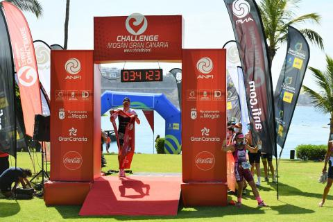 Jan Frodeno en el triatlón Anfi Challenge Mogán Gran Canaria / CanraisNoticias.es