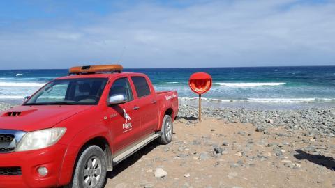 Aros Salvavidas en las playas de Pájara (Fuerteventura) / CanariasNoticias.es