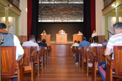 Pleno del Ayuntamiento de Gáldar / CanariasNoticias.es