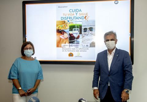 """Presentación de la campaña """"Verano y Salud"""" / CanariasNoticias.es"""