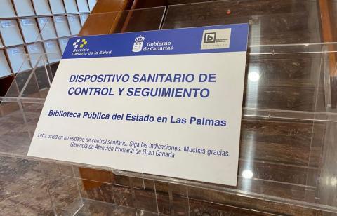 Sala de rastreo de la Biblioteca Pública del Estado en Las Palmas de Gran Canaria / CanariasNoticias.es