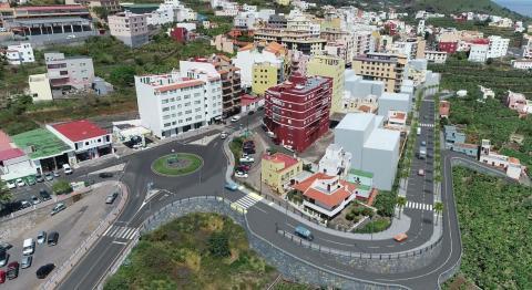 Obras de la nueva avenida del casco urbano de San Andrés y Sauces (La Palma) / CanariasNoticias.es