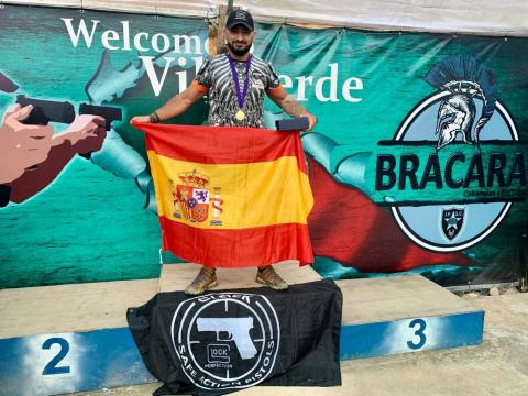 Jorge Gutiérrez, gana el torneo de tiro internacional de Bracara, Portugal