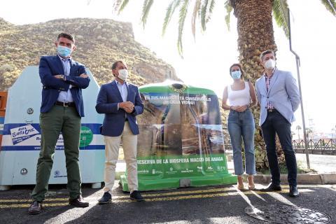 Campaña 'En tus manos está conservarlo ¡Recicla Vidrio!' de Santa Cruz / CanariasNoticias.es