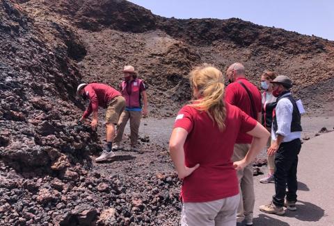Rutas guiadas en el Parque Nacional de Timanfaya de Lanzarote / CanariasNoticias.es
