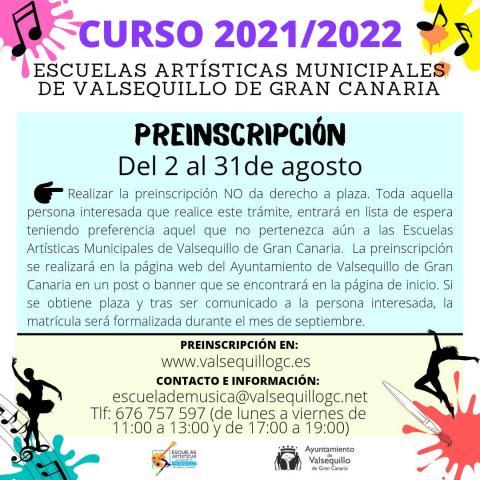 Escuelas Artísticas Municipales de Valsequillo
