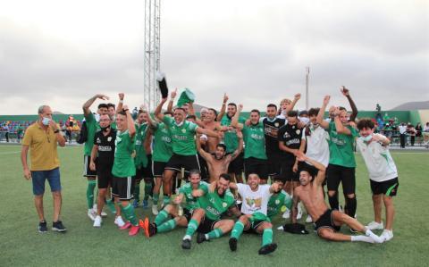 US Yaiza celebra su ascenso a Tercera División / CanariasNoticias.es