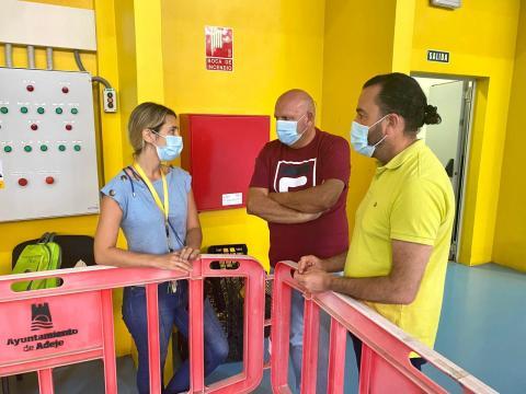Carmen Fernández, Adolfo Alonso y José Antonio López/ canariasnoticias