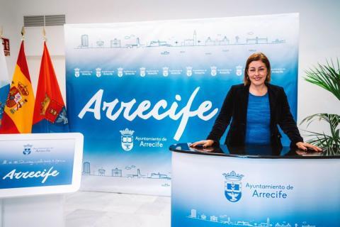 Astrid Pérez, alcaldesa de Arrecife / CanariasNoticias.es