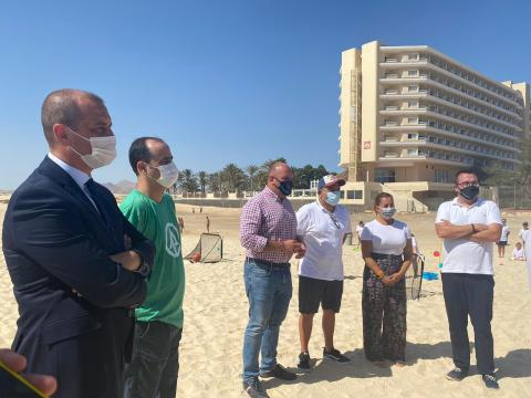 Fuerteventura acoge el campamento de verano de Fundación Canaria Pequeño Valiente / CanariasNoticias.es